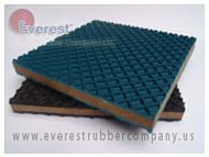 ELASTOMER VIBRATION ISOLATOR EVEREST RUBBER COMPANY