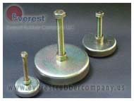SERIES VIBRATION LEVELERS EVEREST RUBBER COMPANY